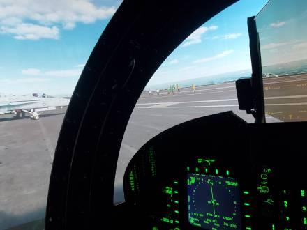 F-18 Hornet flights simulator