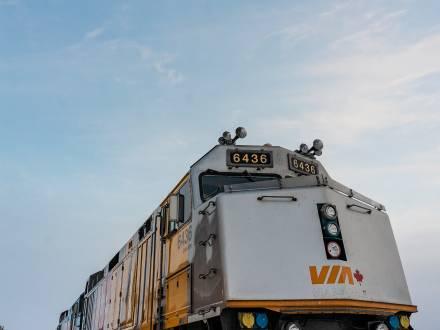 VIA Rail train engine