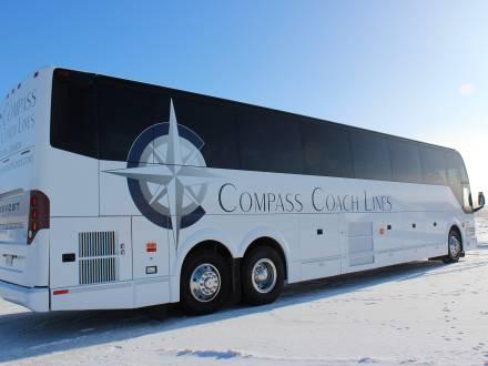 Compass Coach Lines motor coach