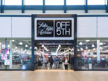 Saks off 5th at Outlet Collection Winnipeg