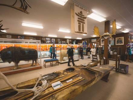 Inside the Itsanitaq Museum in Churchill