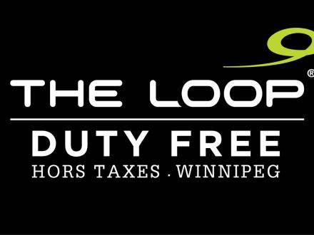 The Loop Duty Free Winnipeg Logo