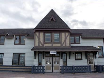 Parks Canada Visitor Centre in Churchill
