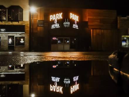 Park Exterior at Night