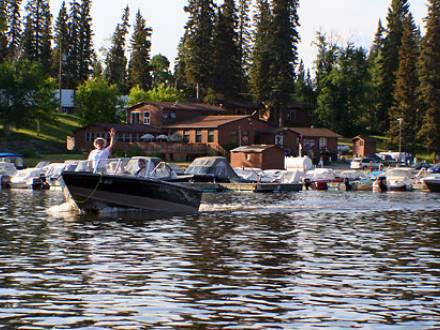 Paint Lake Lodge