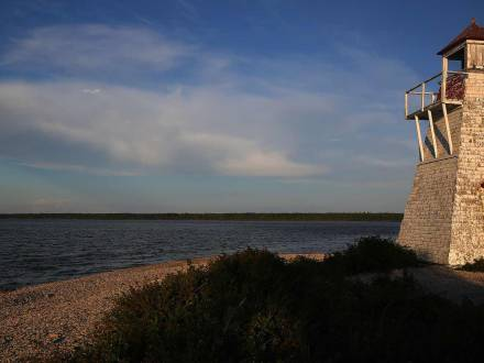 Lighthouse at Hecla-Grindstone Provincial Park