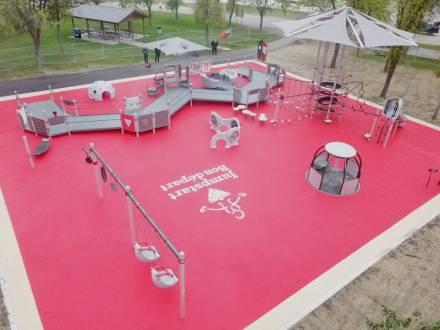 Jumpstart accessible playground